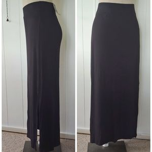 NEW Black Maxi Skirt